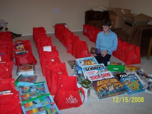 Sorting Rady bags-Day 2